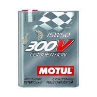 Моторное масло MOTUL 300V Competition 15W50, 2л